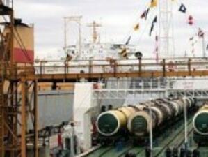 Рязък спад на товарите по ферибота Варна-Кавказ