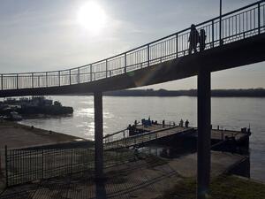 Нивото на р. Дунав край Силистра се понижава
