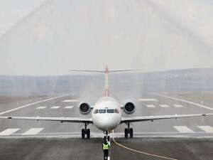 Официално откриха рехабилитираната писта на Летище Варна