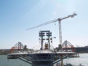 Строежът на Дунав мост 2 ще завърши в края на ноември