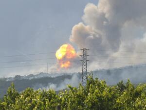 Взривеният цех край Петолъчката е изравнен със земята
