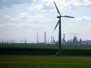 И вятърните генератори били виновни за промените в климата