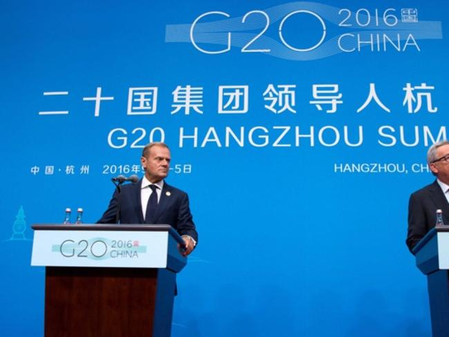 Глобалната икономика ще бъде доминираща тема на срещата на върха на Г-20 в Китай