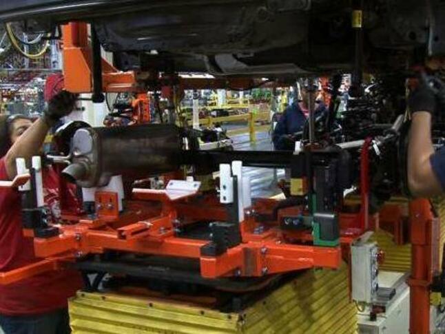 Промишлената активност се срива през март в САЩ