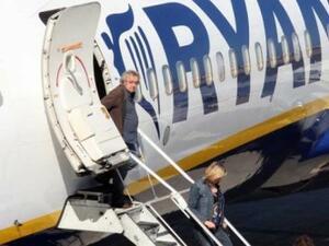 Над 59% от чуждите туристи идват в България с нискобюджетни полети