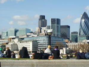 40% от сделките с имоти в Лондон са в сивия сектор