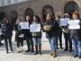 Работещи на летище София протестираха срещу отдаването на концесия на летището