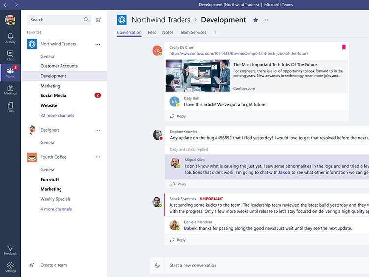 Microsoft Teams – едно от най-вълнуващите приложения в Office 365