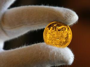 """БНБ пуска в обращание златна възпоменателна монета """"Благовещение"""""""