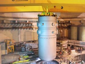 В Беларуската АЕЦ започна заваряването на главния циркулационен тръбопровод
