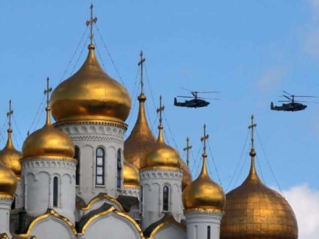 Русия отбелязва победата във Великата отечествена война с военен парад