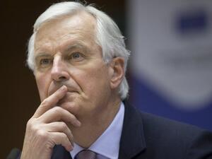 Главният преговарящ на ЕС за Брекзит Мишел Барние днес приема