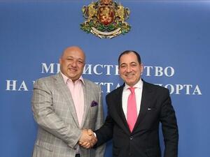 Министър Кралев и турският посланик обявиха планове за насърчаване на спортния обмен и социалния туризъм