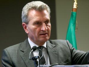 Йотингер: България е поела по пътя към еврото