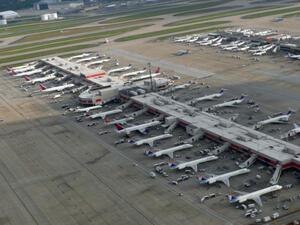 9-те най-натоварени летища в света