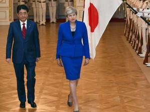 Великобритания и Япония ще подпишат търговско споразумение след Брекзит