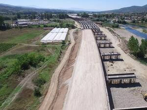 """Нови 24 километра от магистрала """"Струма"""" ще бъдат пуснати следващата седмица"""