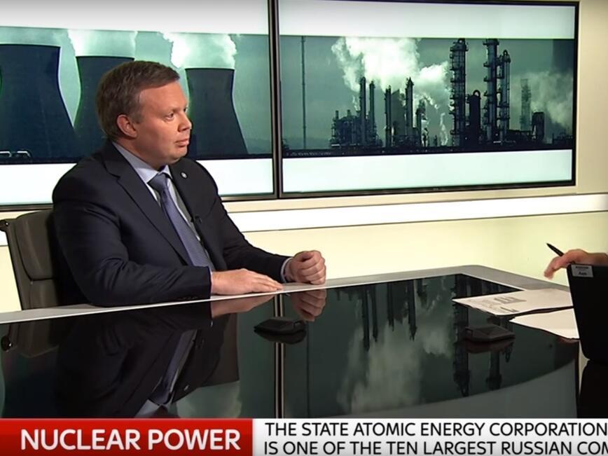 Комаров: АЕЦ е решението за декарбонизация на енергетиката