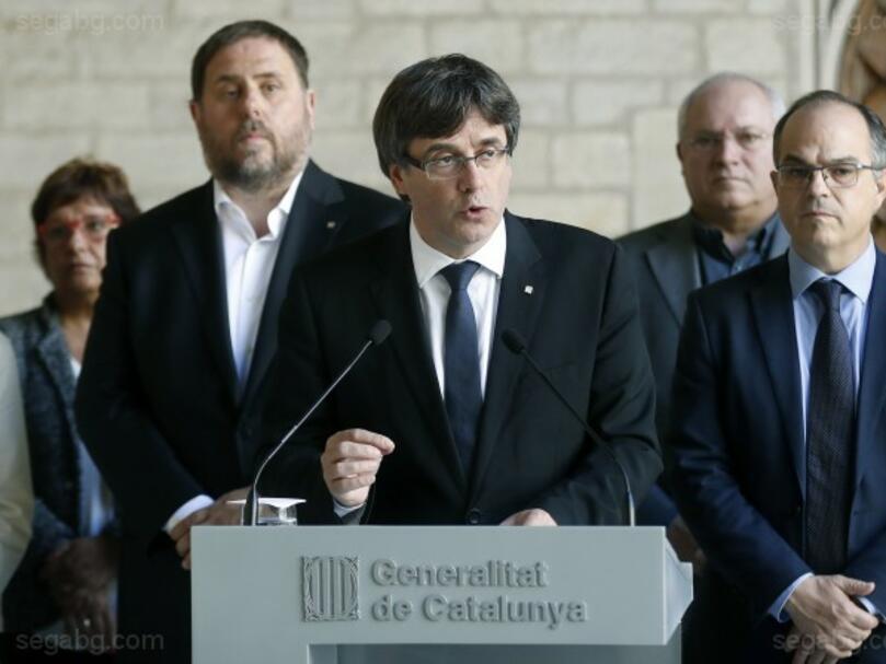 Мадрид даде 8 дни на Каталуня да се откаже от независимостта
