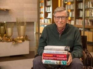 Петте най-важни книги на 2017 г., според Бил Гейтс