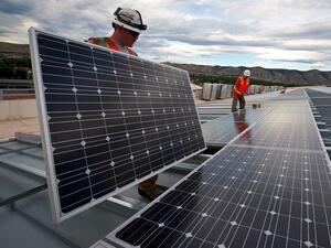 Най-голямата фабрика за производство на соларни панели в Китай започна дейност